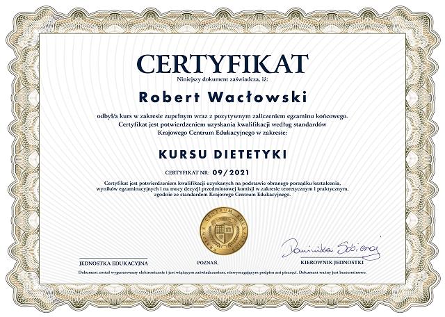 certyfikat - kurs dietetyki-min
